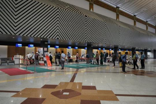 Bandara AP I catat satu juta trafik penumpang pada Agustus 2021