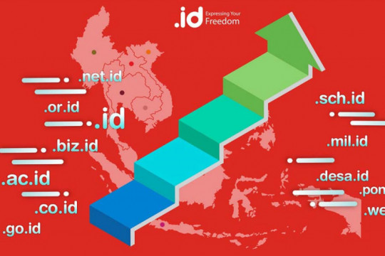Indonesia ungguli Vietnam dalam penggunaan domain negara