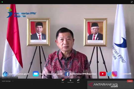 Menteri PPN: Ekonomi biru jadi model transformasi pascapandemi