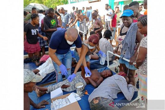 Korban gempa di Haiti
