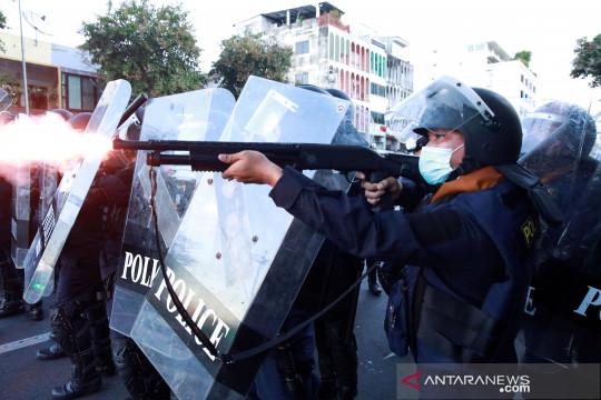 Protes penanganan pandemi berlanjut di Bangkok