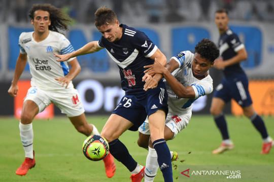Marseille buang keunggulan dua gol saat diimbangi Bordeaux