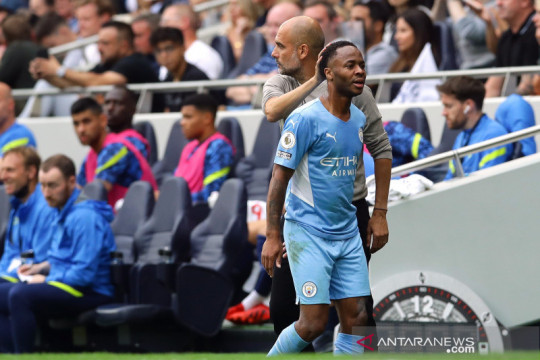 Sterling bersumpah City akan bangkit dari kekalahan laga pembuka