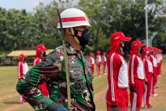 Kapten Infantri Suryadi terpilih jadi Danki Paskibraka HUT ke-76 RI