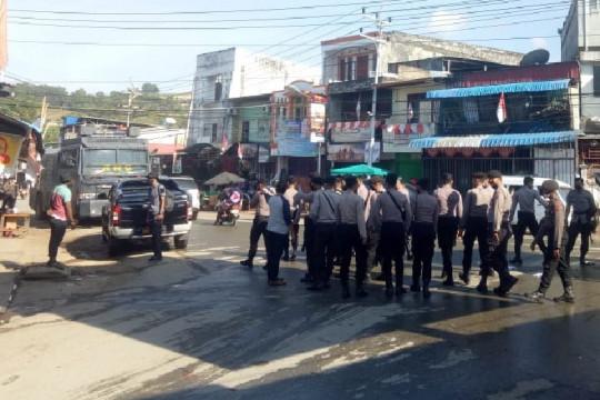 Demo KNPB di Abepura dibubarkan karena langgar PPKM level IV