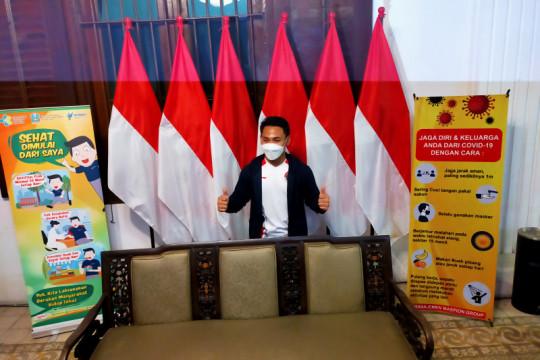 Eko Yuli terima tambahan bonus Rp50 juta dari Pemkab Sidoarjo