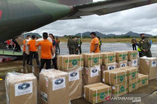 Babel distribusikan 100 tabung oksigen bantuan Presiden Jokowi