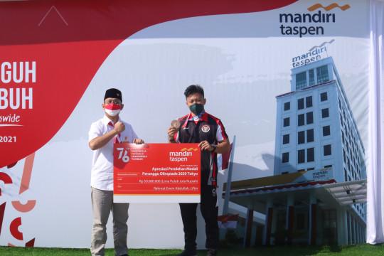 Bank Mantap beri bonus untuk lifter peraih perunggu Rahmat Abdullah