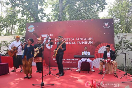 Panggung musik meriahkan HUT Kemerdekaan RI di Beijing