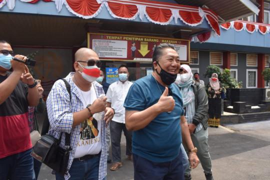 Mantan Bupati Lampung Tengah Andy Achmad bebas bersyarat