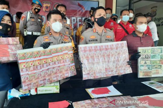 Polisi sita Rp1,5 miliar uang palsu dari dukun pengganda uang di Bogor