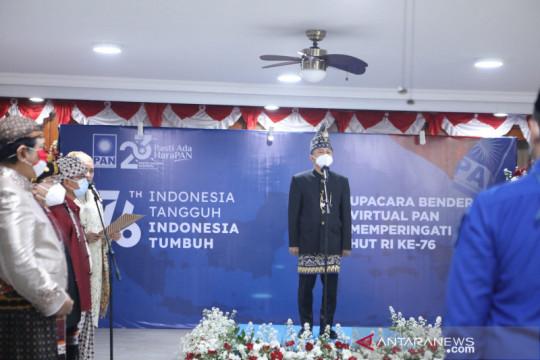 PAN gelar upacara bendera secara virtual