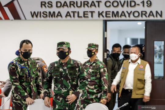 Panglima TNI apresiasi RSDC Wisma Atlet