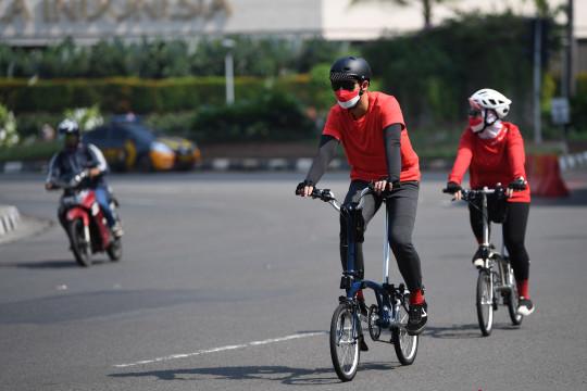 Polda Metro uji coba sepeda untuk transportasi kerja selama tiga hari