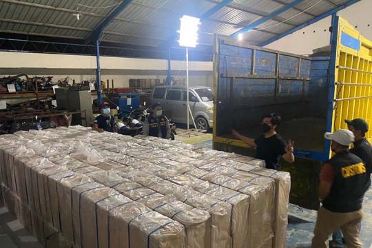 Bea Cukai Langsa menggagalkan peredaran 1,5 juta batang rokok ilegal