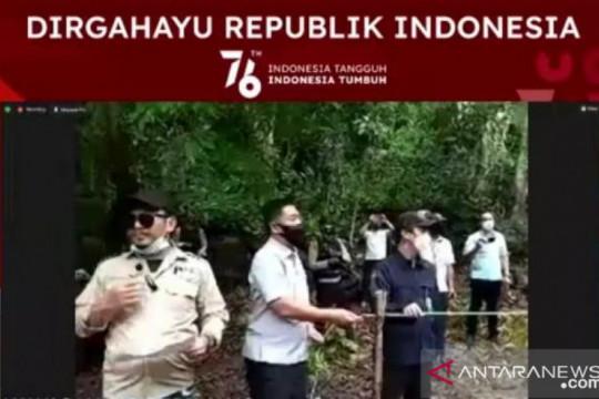 PT Timah - Alobi lepasliarkan satwa langka peringati HUT ke-76 RI