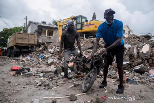 Gempa berkekuatan M 7,2 mengguncang Haiti