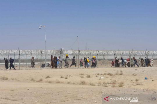 Warga Afghanistan lintasi perbatasan Chaman