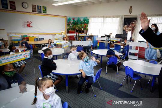 Hari pertama anak-anak Florida kembali ke sekolah