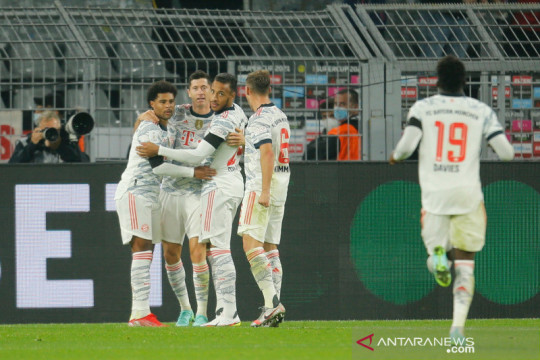 Bayern rengkuh Piala Super Jerman seusai tundukkan Dortmund 3-1