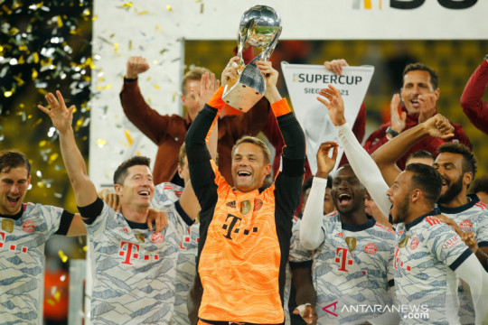 Daftar juara Piala Super Jerman: Bayern tambah koleksi jadi sembilan