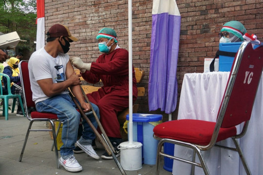 Pemkot Kediri beri layanan jemput-antar disabilitas ikut vaksinasi