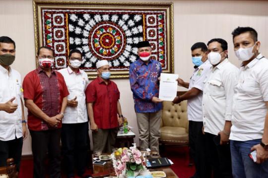 KONI bahas Rakor PON Aceh-Sumut dengan Gubernur Aceh