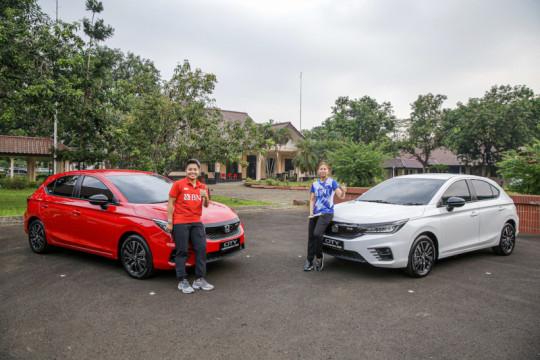 Honda hadiahi mobil kepada Greysia/Apriyani sebagai apresiasi prestasi