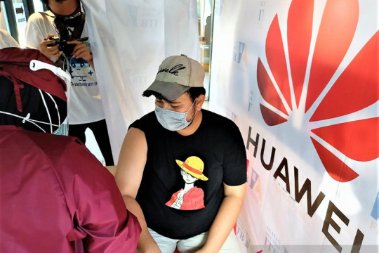 Huawei dukung IATF ITB selenggarakan vaksinasi massal