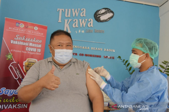 Vaksinasi massal dukung WSBK Mandalika digelar di NTB