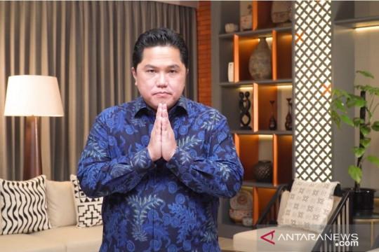 Menteri BUMN buka pameran virtual kartun strip Mai Mabasa Bali