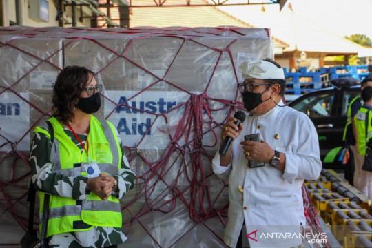 Pemprov Bali terima bantuan 2.400 ventilator dari Pemerintah Australia