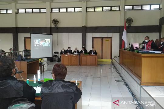 Hakim tipikor menolak eksepsi empat terdakwa korupsi Masjid Sriwijaya