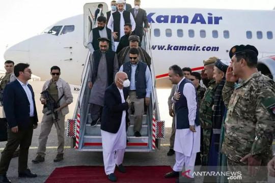 Presiden Afghanistan Ashraf Ghani dan keluarganya ada di UAE