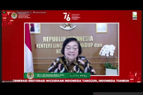 Menteri LHK apresiasi kontribusi pemuda dalam isu adaptasi lingkungan