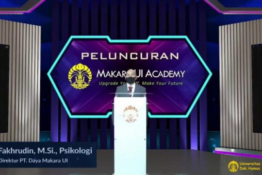 UI luncurkan platform pembelajaran daring Makara UI Academy