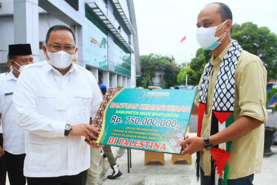 Musi Banyuasin kumpulkan donasi COVID-19 dan Palestina Rp1,2 miliar