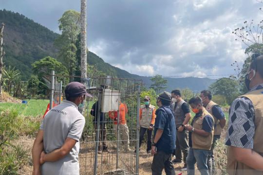 BNPB cek efektifitas alat peringatan dini longsor di Bangli