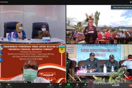 Kemendikbudristek izinkan Universitas Okmin Papua beroperasi
