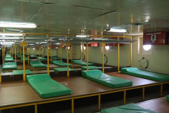 400 tempat tidur KM Lawit siap digunakan bagi pasien COVID-19 Lampung