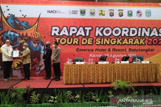 Tour de Singkarak 2021 adopsi sistem pelaksanaan Olimpiade Tokyo