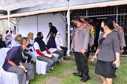 Kapolri minta jajaran perkuat akselerasi vaksinasi di Banten