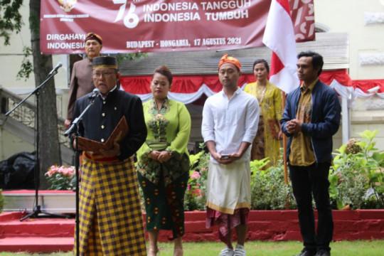 Peringati HUT RI, WNI di Hongaria berdoa bersama untuk Indonesia