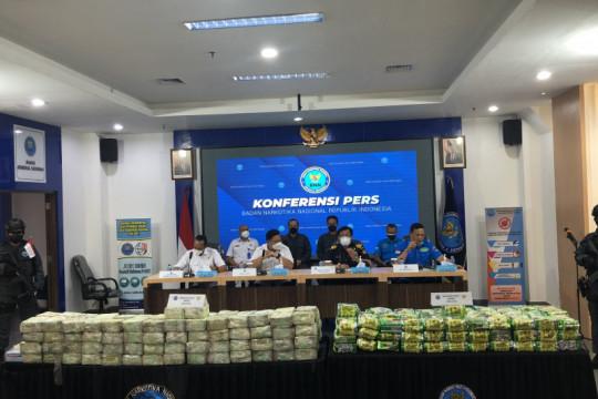 BNN: 80 persen narkotika masuk ke Indonesia melalui jalur laut