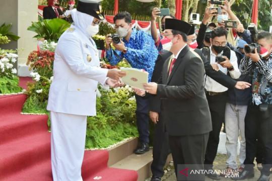 Pemkab Bogor terima sertifikat tanah senilai Rp120 miliar