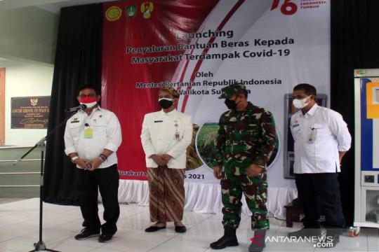 Mentan luncurkan bantuan ATM beras untuk warga terdampak pandemi