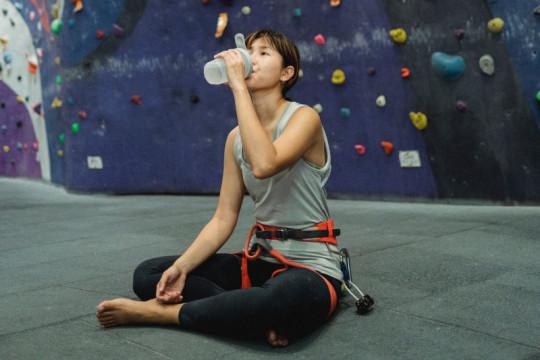 Perlukah minuman energi saat olahraga