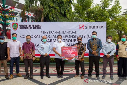Sinar Mas donasikan oksigen ke Pemda Kalimantan Tengah