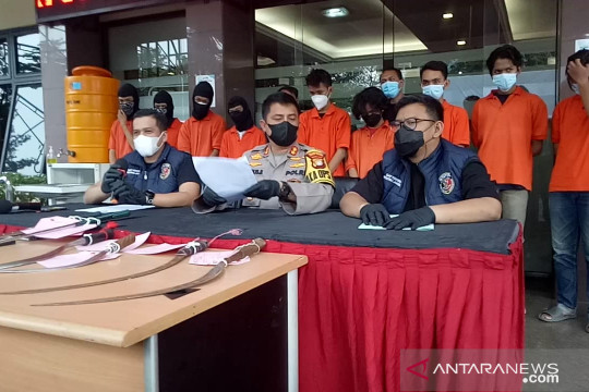 Polres Jaksel beri ultimatum warga Mampang untuk tidak tawuran