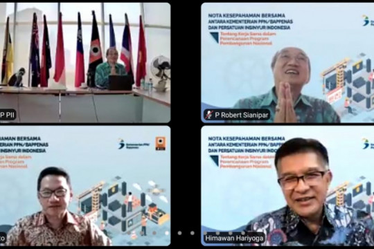 Persatuan Insinyur Indonesia bakal bantu Bappenas bangun Ibu Kota baru
